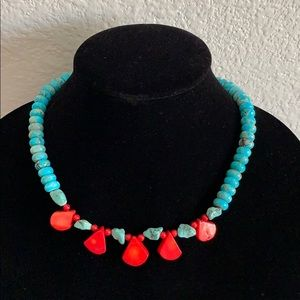 Gemstone necklace New from BARSE 18-20 inch long